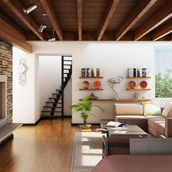El Rehab Mountian Villa Completed